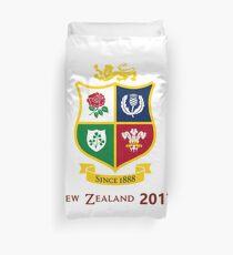 British Lions 2017 Zew Zealand Rugby Union Duvet Cover