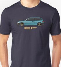 EF aqua T-Shirt