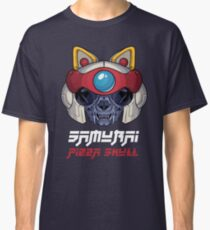 Samurai Pizza Skull Classic T-Shirt