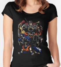 MIX DBZ OTHER Women's Fitted Scoop T-Shirt