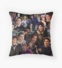 Jess Mariano Throw Pillow