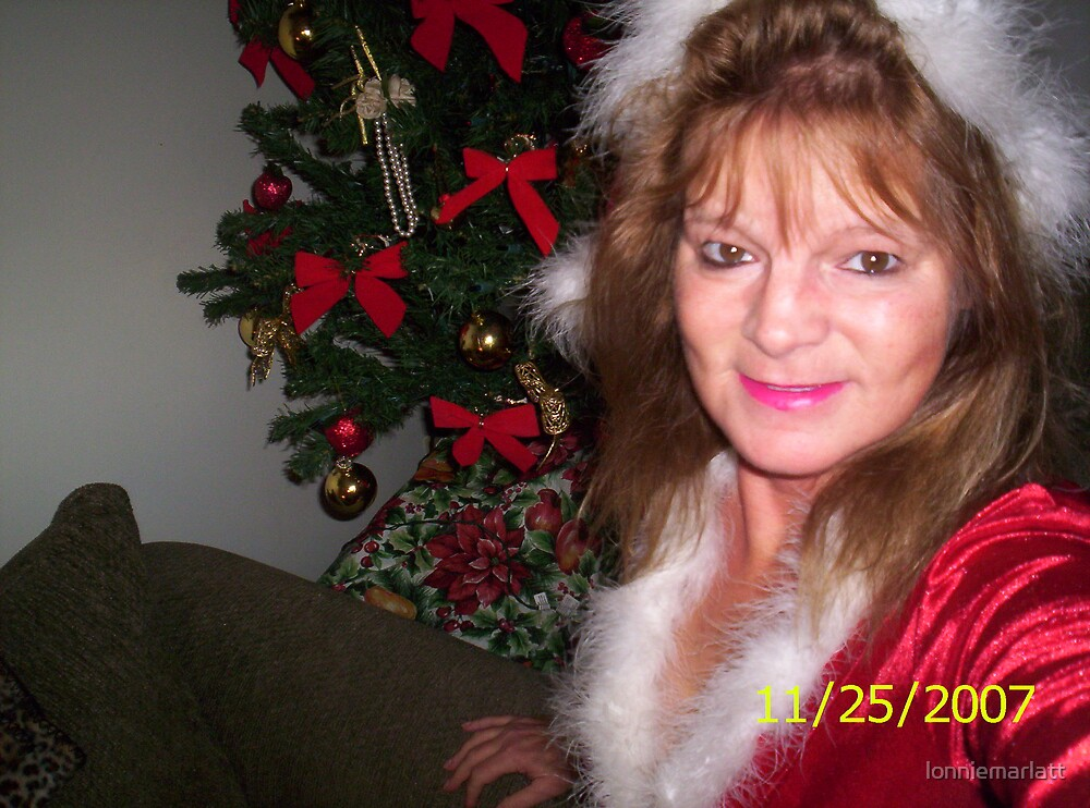 Me on Christmas eve. by lonniemarlatt