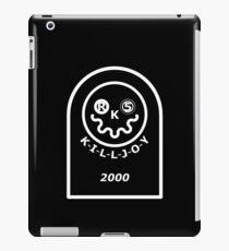 Killjoy Gravestone iPad Case/Skin