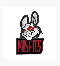 Misfits logo Photographic Print