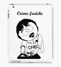 Creme Fraiche South park iPad Case/Skin