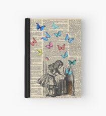 Cuaderno de tapa dura Alicia en el país de las maravillas - que comience la aventura