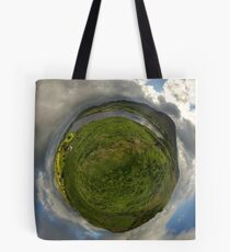 Teelin Bay from Roxborough fort, S. Donegal Tote Bag