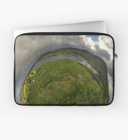 Teelin Bay from Roxborough fort, S. Donegal Laptop Sleeve