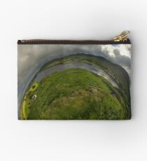 Teelin Bay from Roxborough fort, S. Donegal Studio Pouch