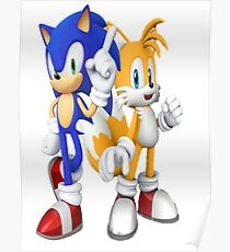 Sonic & Tails Poster