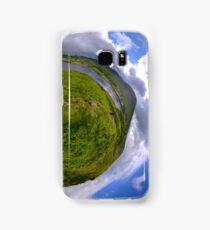 Teelin Bay from Roxborough fort, S. Donegal Samsung Galaxy Case/Skin
