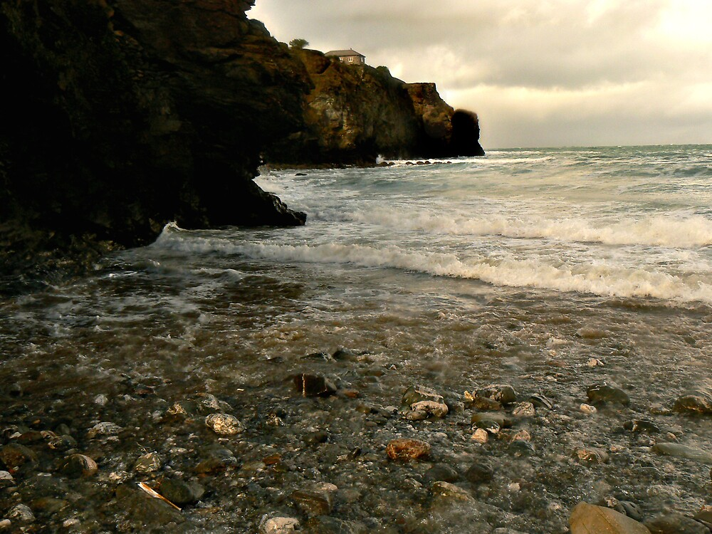 Trevaunance Cove by mariarty