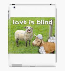 Love is Blind iPad Case/Skin