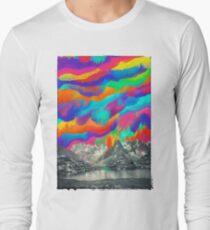 Skyfall, Melting Northern Lights Long Sleeve T-Shirt