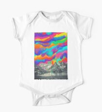 Skyfall, Melting Northern Lights One Piece - Short Sleeve