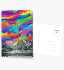 Skyfall, Melting Northern Lights Postcards