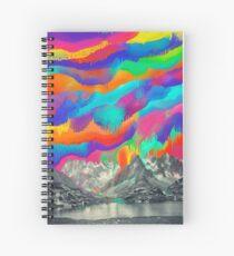 Skyfall, Melting Northern Lights Spiral Notebook