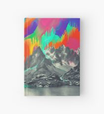 Skyfall, Melting Northern Lights Hardcover Journal
