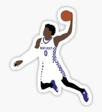 De'Aaron Fox Kentucky  Sticker