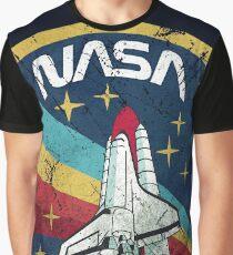 Nasa Vintage Colors V01 Graphic T-Shirt