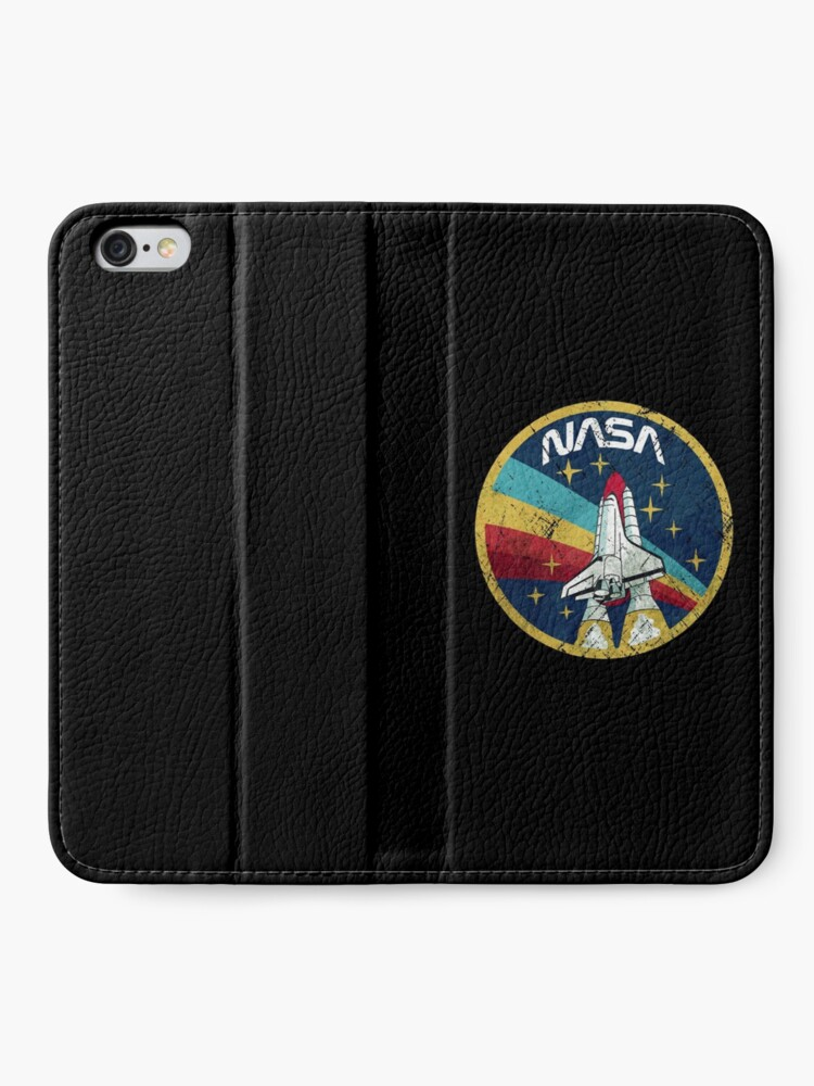 Alternate view of Nasa Vintage Colors V01 iPhone Wallet