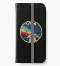 Nasa Vintage Colors V01 iPhone Wallet/Case/Skin
