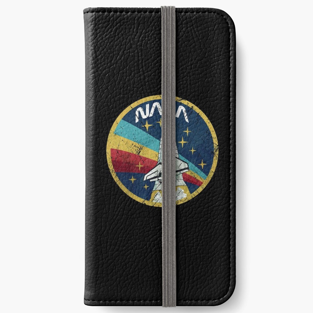 Nasa Vintage Colors V01 iPhone Wallet