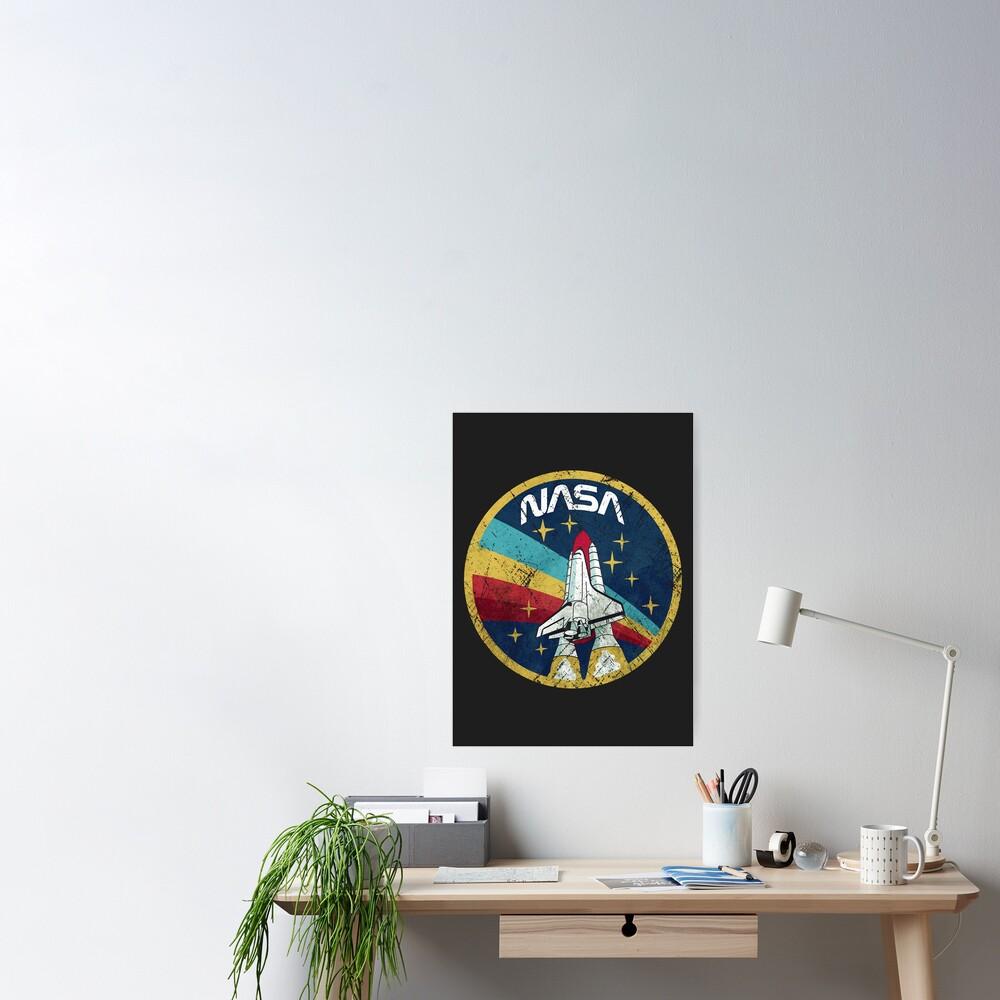 Nasa Vintage Colors V01 Poster