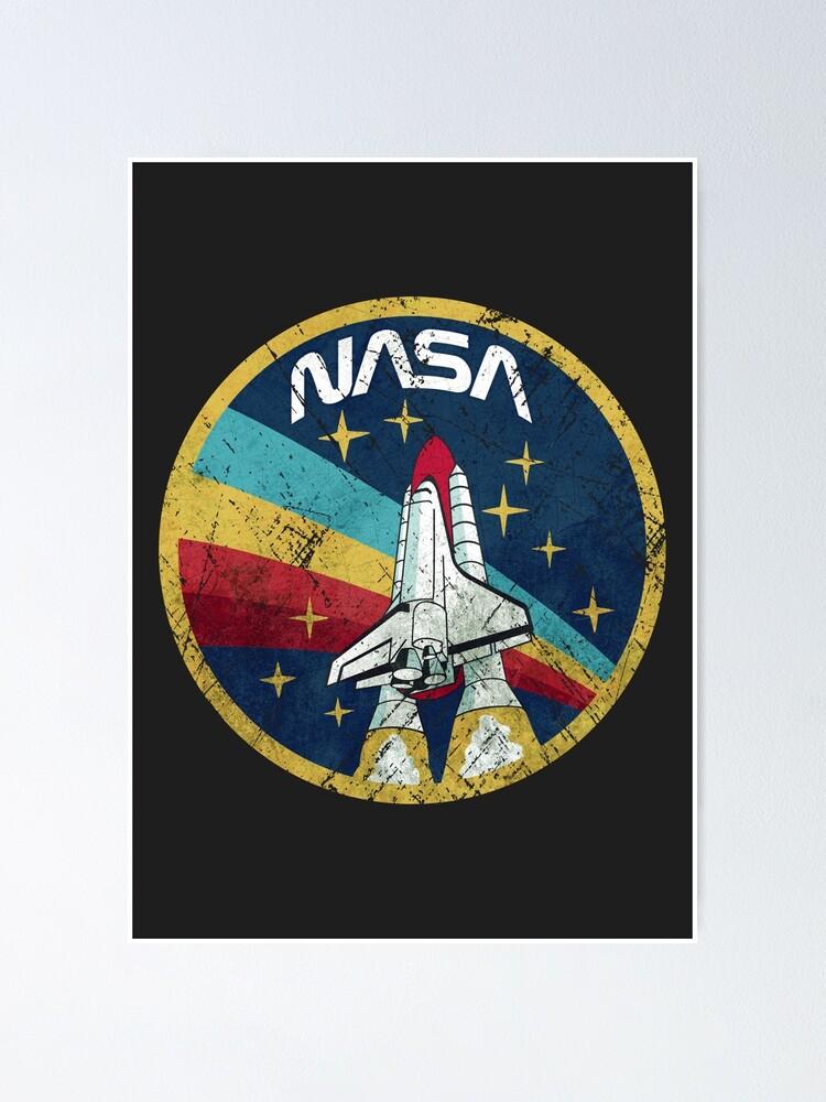 Alternate view of Nasa Vintage Colors V01 Poster