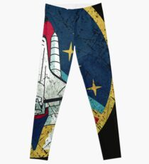 Nasa Vintage Colors V01 Leggings