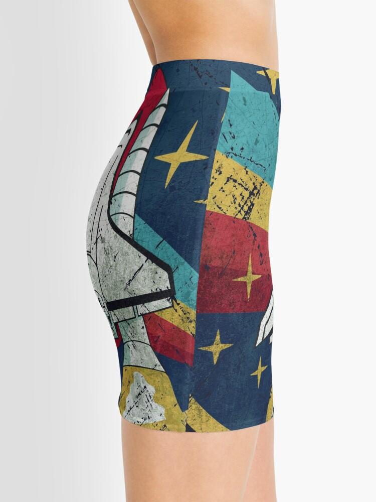 Alternate view of Nasa Vintage Colors V01 Mini Skirt