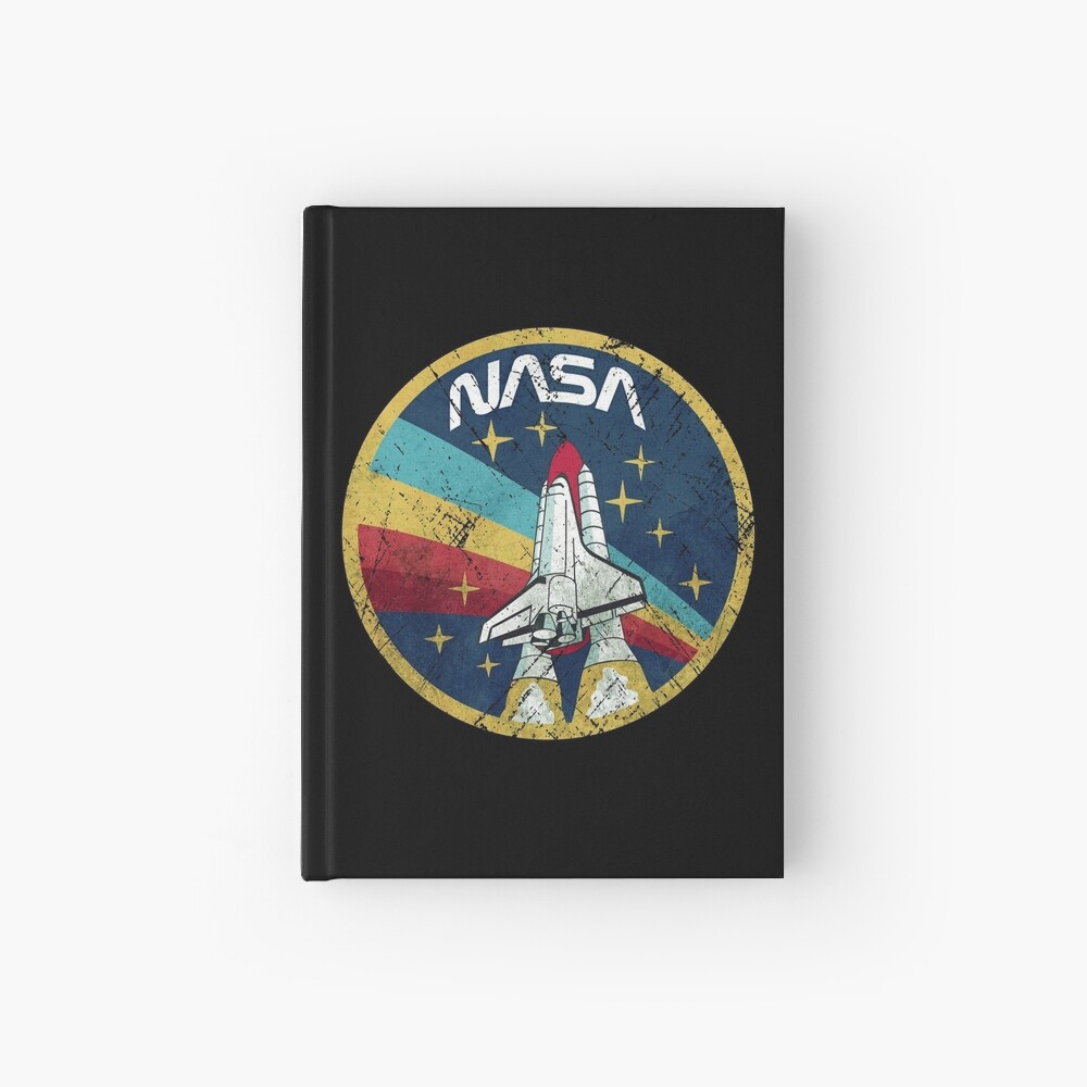 Nasa Vintage Colors V01 Hardcover Journal