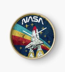 Nasa Vintage Colors V01 Horloge
