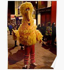 Big Bird - on Streets of Derry, Halloween 2012 Poster