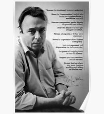 Christopher Hitchens - Quote from Letters to a Young Contrarian Poster