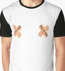 Free the Nipple - white Graphic T-Shirt