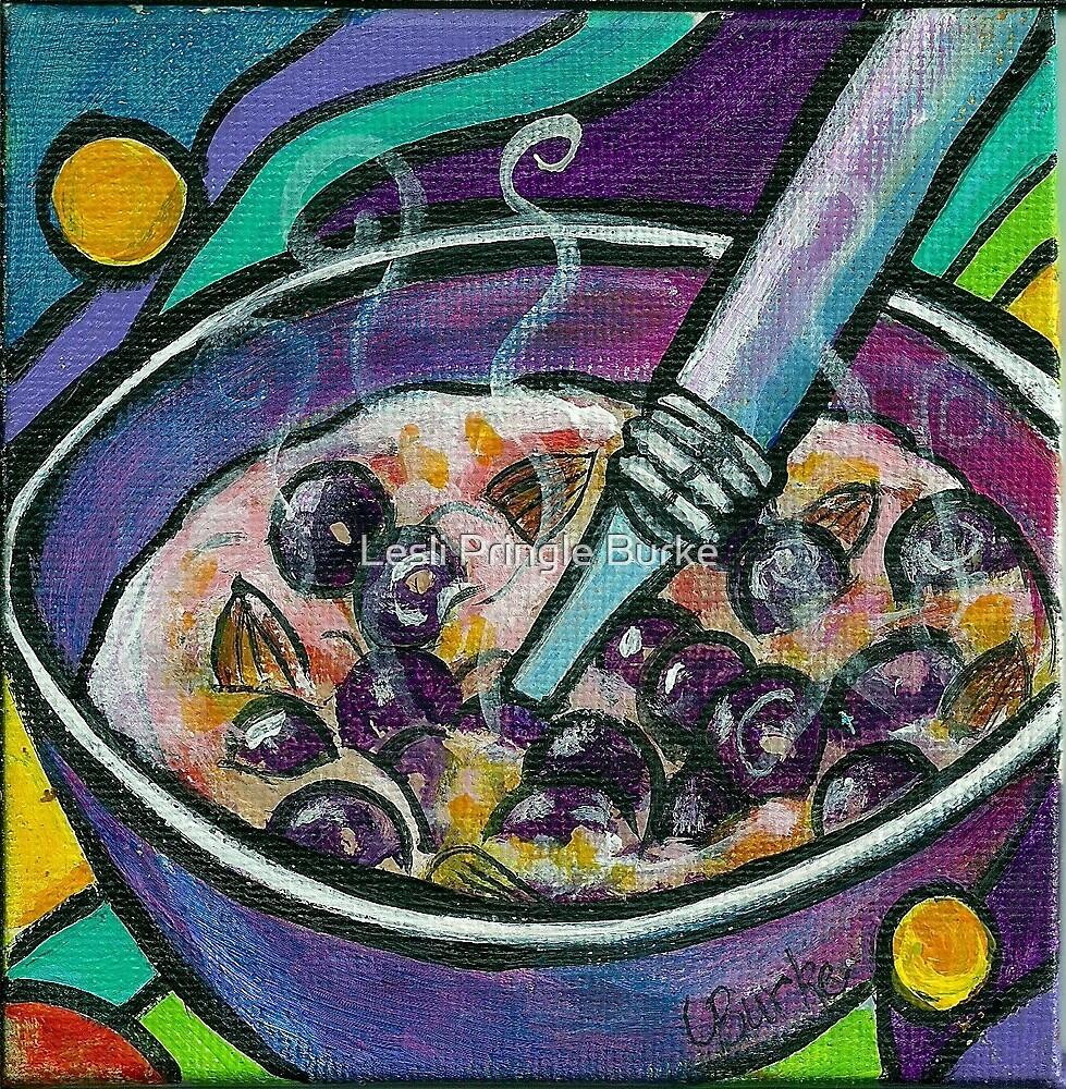 Blueberry Almond Oatmeal by Studio Burke