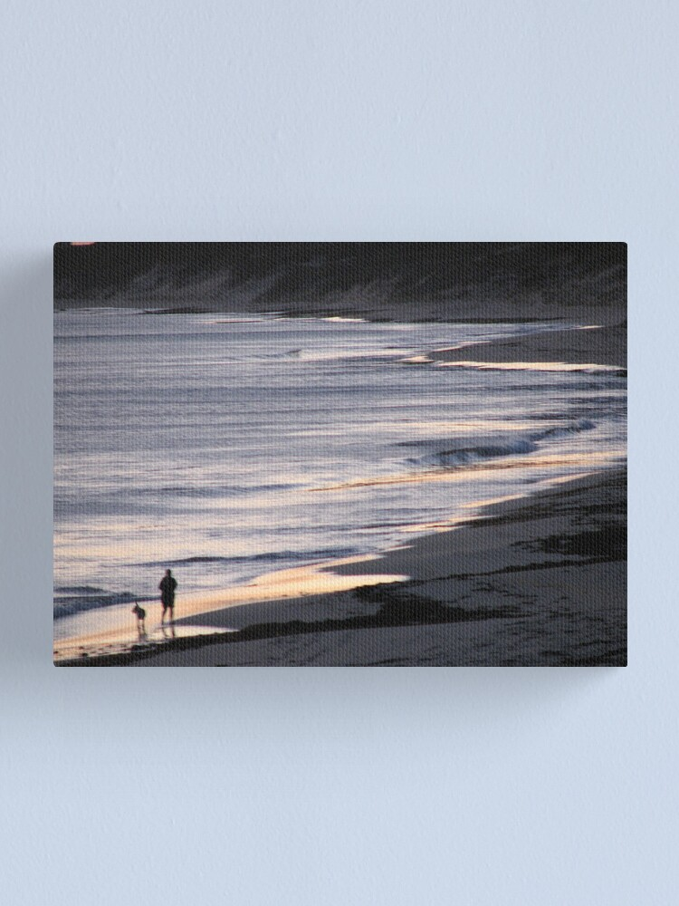 Alternate view of Sombre Stroll Canvas Print
