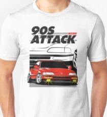 Honda CRX 90s Attack Unisex T-Shirt