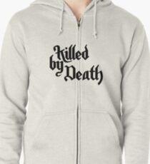 Motörhead-Killed by Death White Zipped Hoodie