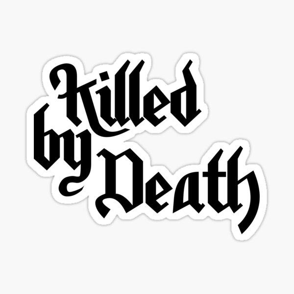 Motorhead Killed by Death Blanc Sticker
