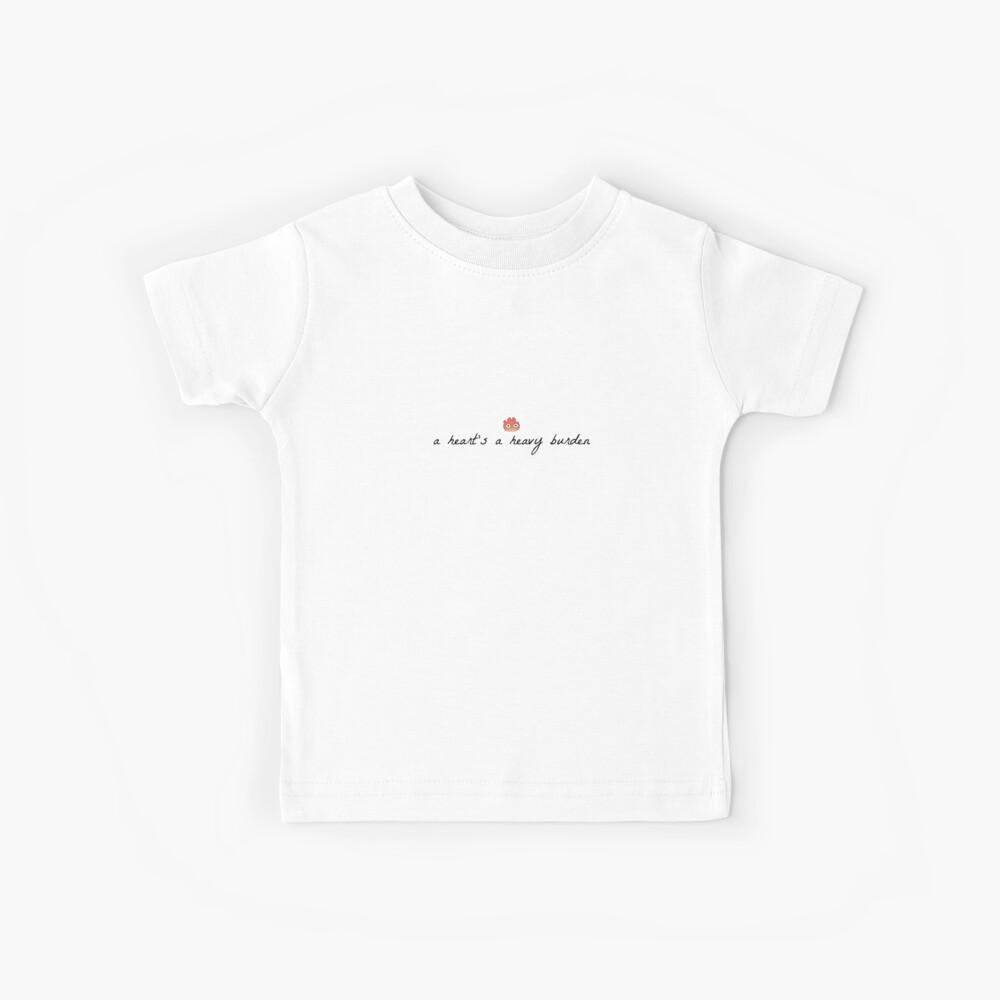 A Heart's A Heavy Burden (Muted) Kids T-Shirt
