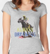 Always Dreaming: Kentucky Derby 2017 Women's Fitted Scoop T-Shirt