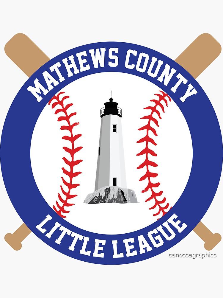Mathews County Little League by canossagraphics