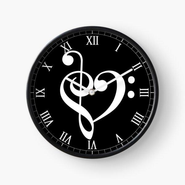 Music notes Clock