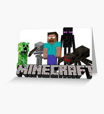 Minecraft Greeting Card