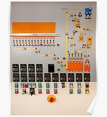 Factory control board Poster