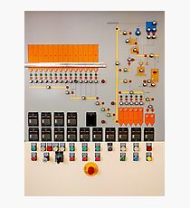 Factory control board Photographic Print
