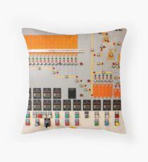 Factory control board Throw Pillow