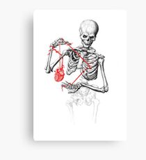 I need a heart to feel complete Canvas Print